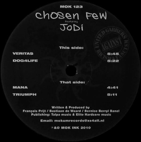 MOK 123 VINYL Chosen Few Featuring JoDi-301