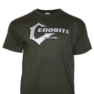 Cenobite Records T-Shirt Green Khaki