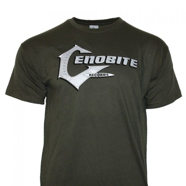Cenobite Records T-Shirt Green Khaki