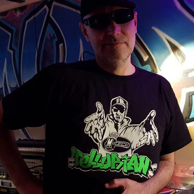 dj tellurian mokum records logo shirt AMSTERDAM GABBER HARDCORE