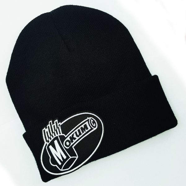 mokum records muts beanie embroided patch