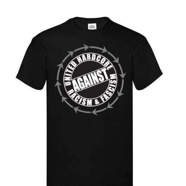 United Hardcore Against Racism & Fascism T-Shirt